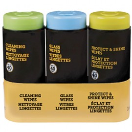 Set car wipes